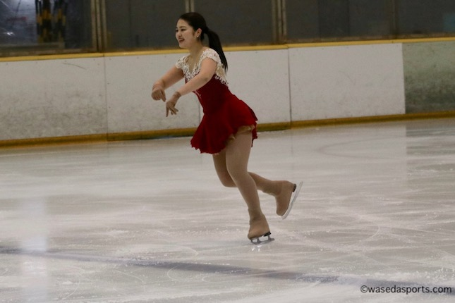 シーズン終盤、早大スケーターたちがバレンタインカップで演技