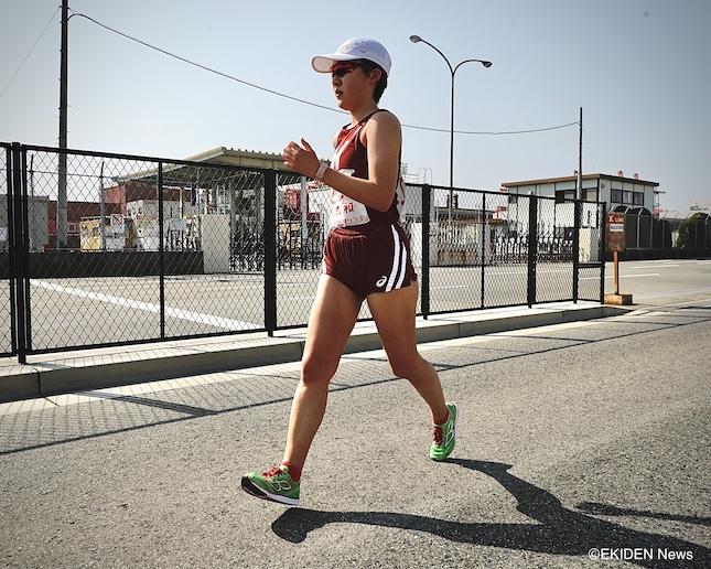 木村が初の20キロ競歩に挑戦